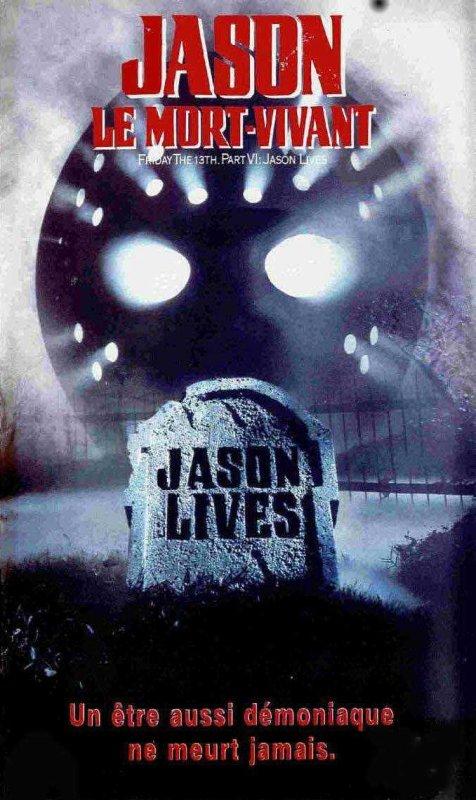 Vendredi 13 - Chapitre 6 : Jason le mort vivant affiche